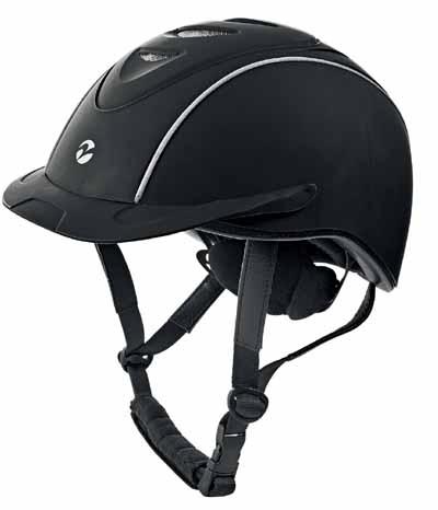 Reithelm Toulouse verstellbar Sicherheitshelm Reitkappe braun oder schwarz BUSSE